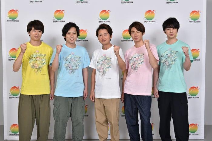 嵐/櫻井翔、二宮和也、大野智、相葉雅紀、松本潤(C)日本テレビ