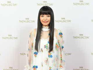 miwa、透け感たっぷりワンピがキュート<THE MUSIC DAY舞台裏取材>