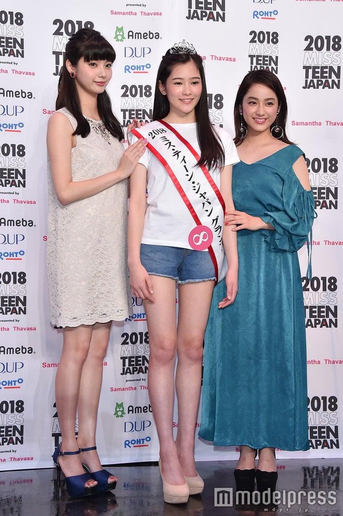 新川優愛、佐藤梨紗子さん、平祐奈 (C)モデルプレス