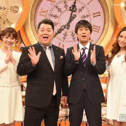(左から)小林麻耶、小杉竜一、吉田敬、May J./(C)TBS