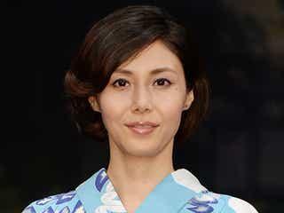 松嶋菜々子、本音をこぼす「寂しかった」
