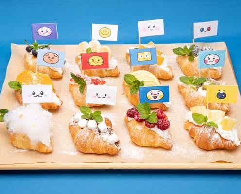 「TRUZカフェ」表参道に限定オープン、キャラ別クロワッサンサンドやパンケーキなど