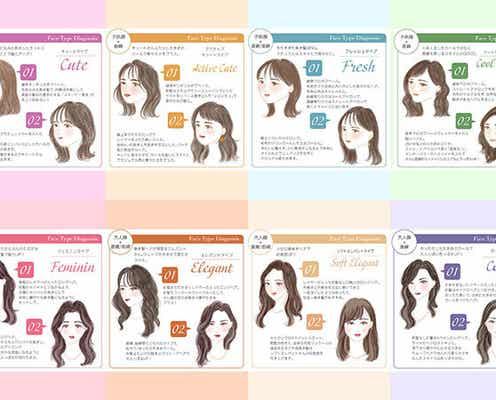 プロが教える!8つの顔タイプ別♡最高に似合う「巻き髪ヘアスタイル」&髪の巻き方
