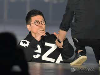 宮迫博之、ヒカルからのドッキリにかかる ステージに落とし穴<関コレ2021S/S>