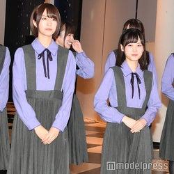 楽しそうに談笑しながら登場した/土生瑞穂、齊藤京子、山下美月 (C)モデルプレス