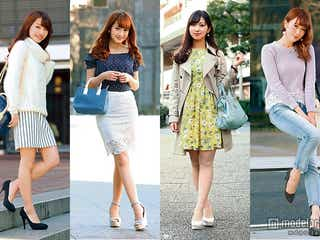 4着あればいい!週5で着回せる春モテファッション発表 1番人気はどれ?