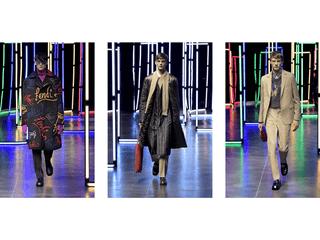 フェンディ 2021-22年秋冬メンズコレクションをミラノにて発表