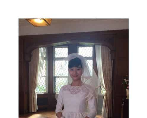 芳根京子、初のウェディングドレス姿に「美しくてため息」「まさにべっぴんさん」と絶賛の声