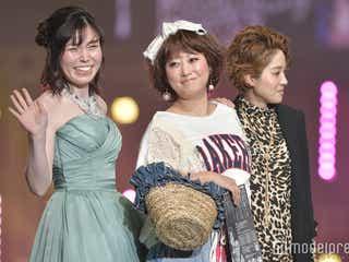 尼神インター・誠子、華やかウェディングドレス披露も「メイクさん5~6人囲って修正してた」<福岡アジアコレクション2018 S/S>