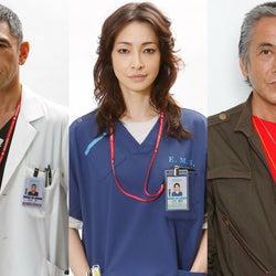 寺島進・杉本哲太・りょう、月9「コード・ブルー」3シリーズ連続出演決定