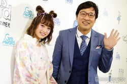 """日本一かわいい女子高生の""""りこぴん""""こと永井理子、山里亮太(C)モデルプレス"""
