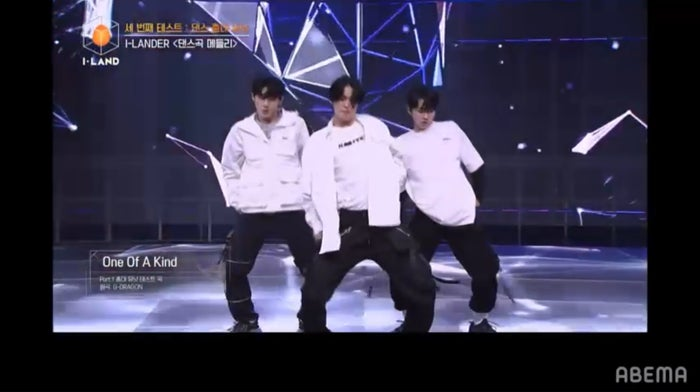I-LANDのダンスステージ(C) AbemaTV, Inc.