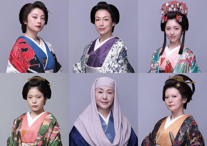 (上段左から)小池栄子、鈴木保奈美、浜辺美波(下段左から)岸井ゆきの、松坂慶子、南野陽子(C)フジテレビ