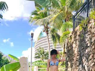 元HKT48兒玉遥、抜群スタイルの水着ショット公開「後ろ姿も最高かよ」