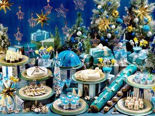 ヒルトン福岡シーホーク「Sparkle ☆ Christmas」流星ロールやムーンゼリーなど星空スイーツ21種