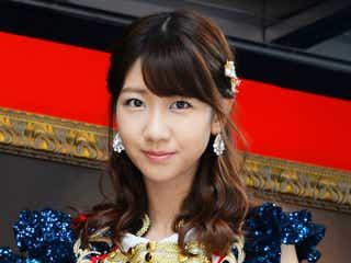 柏木由紀、AKB48総選挙速報にコメント
