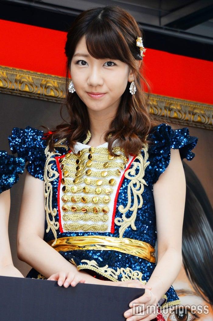 柏木由紀、AKB48総選挙速報にコメント(C)モデルプレス