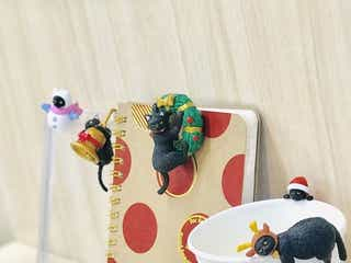 可愛いすぎて悶絶…「ふちねこクリスマスキャンペーン」が全国カフェ・ベローチェ等で開催中!