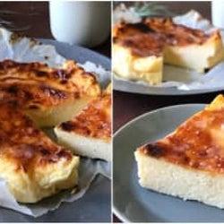 最高傑作かも…バスク風チーズケーキが簡単激うまと話題!