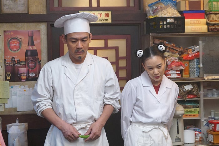 森崎博之、蒼井優/劇中カット(C)2017『ミックス。』製作委員会