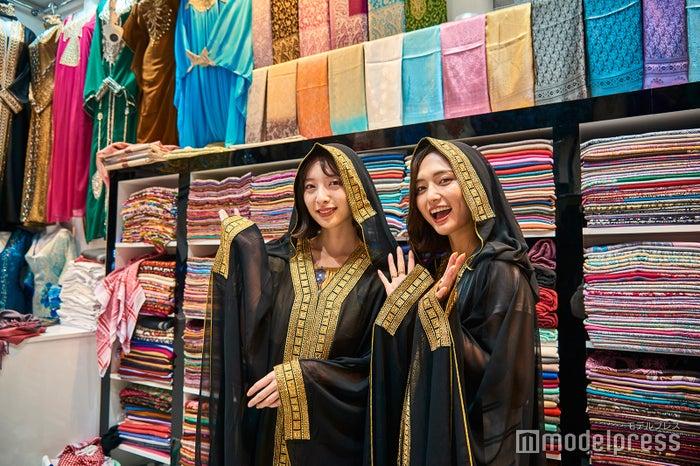 旅気分を高める伝統着も手に入るオールドスーク(C)モデルプレス
