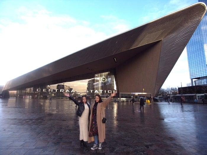 ロッテルダム中央駅 (提供写真)