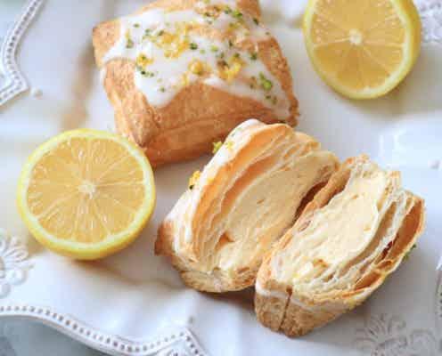 国産レモンと冷凍パイシートでつくる!サクふわレモンカスタードパイ