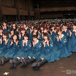 欅坂46、初の全国握手会でファン1万人動員 HKT48の記録更新は「乃木坂46さんのおかげ」