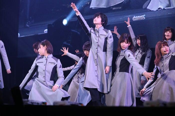 「TGC KITAKYUSHU 2017 by TOKYO GIRLS COLLECTION」に出演した欅坂46(提供写真)