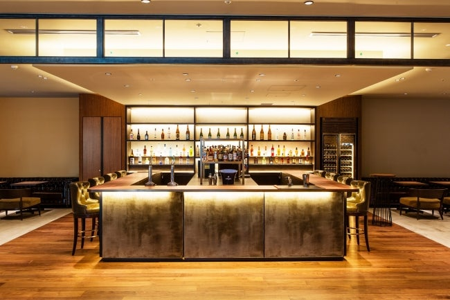 Bar & Dining 「TORRENT」バースペース/画像提供:エクセルホテル東急
