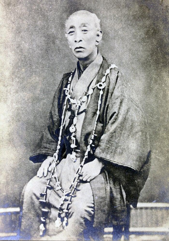 松浦武四郎肖像(C)松浦武四郎記念館蔵
