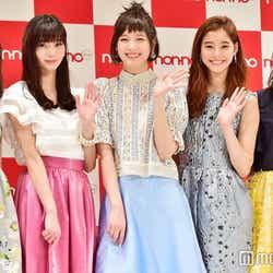 鈴木友菜、新川優愛、本田翼、新木優子、西野七瀬(C)モデルプレス