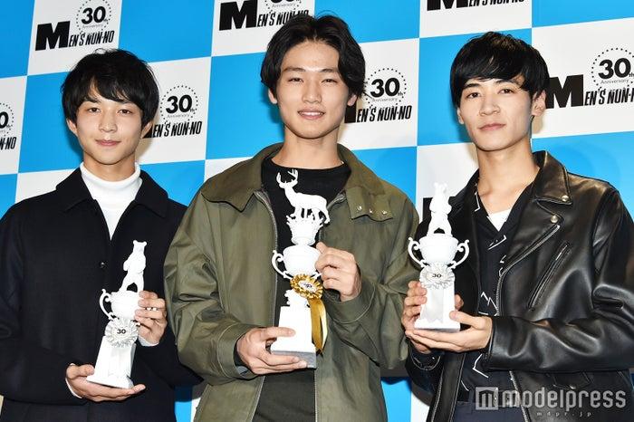 新「メンズノンノ」モデル決定 180cm超えのイケメン3名が加入/鈴木仁さん、中川大輔さん、若林拓也さん(C)モデルプレス