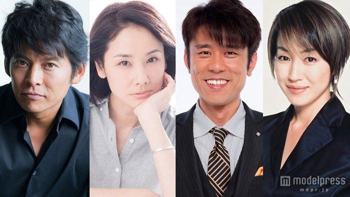 映画「ボクの妻と結婚してください。」に出演する(左より)織田裕二、吉田羊、原田泰造、高島礼子(C)2016「ボクの妻と結婚してください。」製作委員会【モデルプレス】