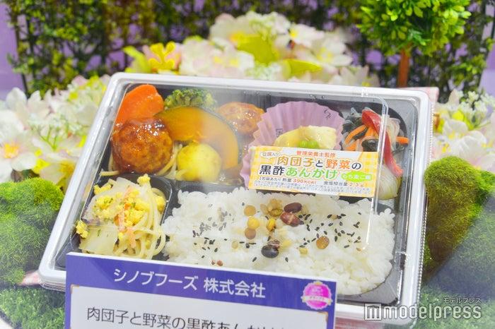 シノブフーズ株式会社「肉団子と野菜の黒酢あんかけ弁当」(C)モデルプレス