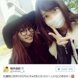 モデルプレス - 柏木由紀&サイサイひなんちゅ、偶然の再会に感激