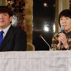 吉田沙保里の兄・栄利さん、母・幸代さん (C)モデルプレス