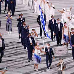 「ギリシャ」入場行進/Photo by Getty Images