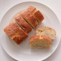 家にある材料で栄養満点簡単おやつ!「バナナケーキ」を作ろう♩