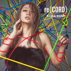 倖田來未、スリリングな「re(CORD)」ジャケット写真公開