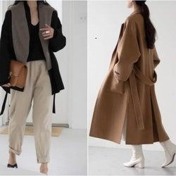 着るだけでスタイルアップ!着太りして見えないオシャレな綺麗めコート特集