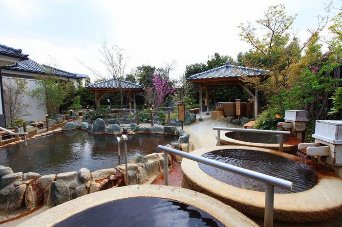 露天風呂/画像提供:湯都里 群馬・高崎 京ヶ島天然温泉