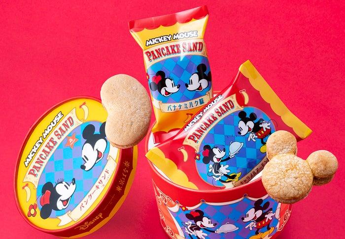 ミッキーマウス/パンケーキサンド「見ぃつけたっ」(C)Disney