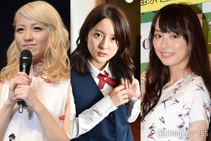 5月9日に一番読まれたニュースは?/(左から)Ami、生田佳那、内田理央(C)モデルプレス