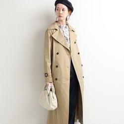 定番「トレンチコート」を今っぽく!大人女子の今年の着こなし15選