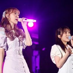 宮脇咲良、矢吹奈子「宮脇咲良 HKT48 卒業コンサート ~Bouquet~」(C)Mercury