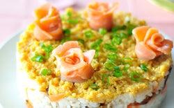 会社から帰宅後でも作れる! 時短ケーキ寿司