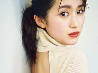 福本莉子、透明感溢れる美麗カットで大人っぽキレイに 大胆美背中も披露