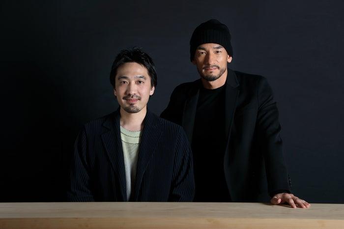 中田英寿、田根剛/画像提供:JAPAN CRAFT SAKE COMPANY