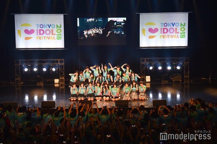「TOKYO IDOL FESTIVAL 2018」HOT STAGEの様子(C)モデルプレス
